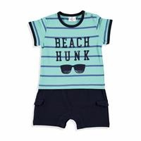 Baby Boy Ringel Short Romper