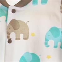 Baby Boy Elephant Snaps Pyjamas Set