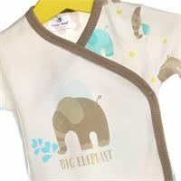 Baby Boy Elephant Bodysuits Trousers Set