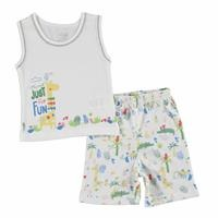 Baby Boy Crocodile Athlete Shorts Set