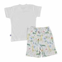Baby Boy Crocodile Tshirt Shorts Set