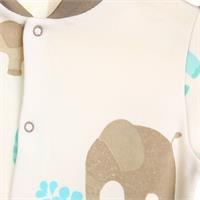 Baby Fil Patikli Çıtçıtlı Bebek Tulum