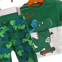 Interlock Skateboarding Dino Baby Tracksuit Set