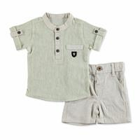 Baby Crested Shirt-Shorts