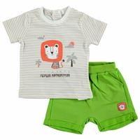Summer Baby Boy Safari Adventure T-shirt Short 2 pcs Set