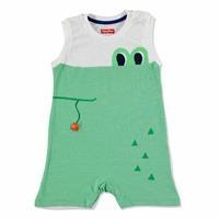 Summer Baby Boy Crocodile Jumpsuit