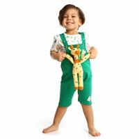 Summer Baby Sweet Vegetables Sweatshirt Dungarees Set