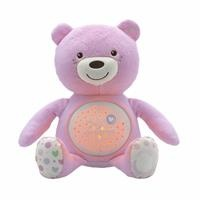 Baby Musical Teddy Bear Pink