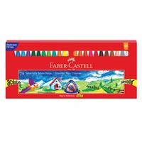Faber Castell Erasable Crayon 25 Colors