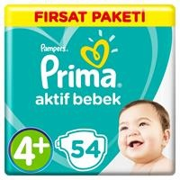 Active Baby Diapers Size 4+ Maxi Plus Advantage Pack 10-15 kg 54 pcs