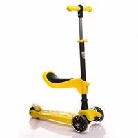 Oturaklı Scooter Sarı