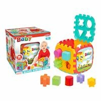 Baby Puzzle Big Shape Sorter Cube