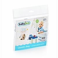 Baby Laundry Bag 46x36 cm 1 pcs White