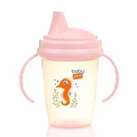 Non-spill PP Cup 230 ml Pink