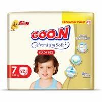 Külot Bez Premium Soft 7 Beden Süper Jumbo Paket 22 Adet 18-30 kg