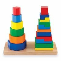 2-Sided Edge Wooden Towers