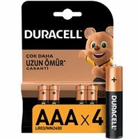 Alkaline AAA 4 Pieces Battery