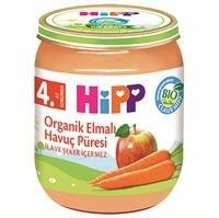 Organik Elmalı Havuç Püresi 125 gr