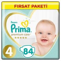 Baby Diaper Premium Care Size 4 Maxi Advantage Pack 9-14 kg 84 pcs
