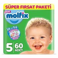 Baby Diapers Size 5 Junior Super Advantage 11-18 kg 60 pcs