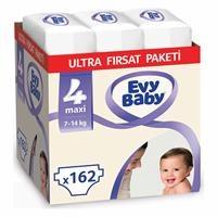 Bebek Bezi 4 Beden Maxi Ultra Fırsat Paketi 162 Adet