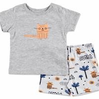 Summer Baby Boy Alf Supreme Short Sleeve T-shirt Short 2 pcs Set