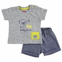 Yaz Erkek Bebek Babam ve Ben Tshirt-Şort Takım