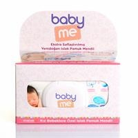 Newborn Girl Cotton Wipes-3 packs