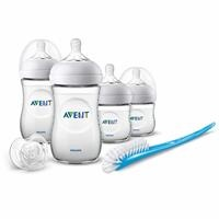 SCD301/01 Natural Newborn PP Baby Bottle Set