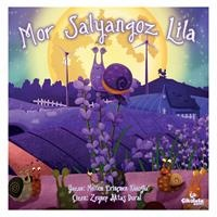 Mor Salyangoz Lila Children's Storybook - Turkish