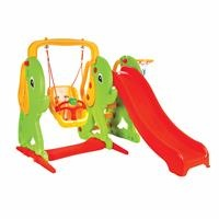 Elephant Slide and Swing
