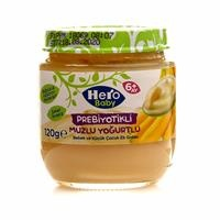 Prebiotic Banana Yogurt 120 g