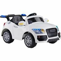 436 Remote Control 12V Battery Powered Car - White