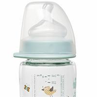 Wide Neck Bottle 240 ml Anti-Kolik Cam Biberon Erkek
