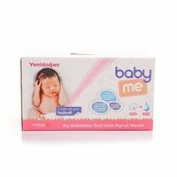 Newborn Girl Wet Cotton Wipes-24 pac