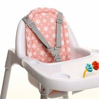 Baby High Chair Cotton Cushion Star Patterned