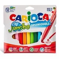 Jumbo Colored Markers 12 pcs