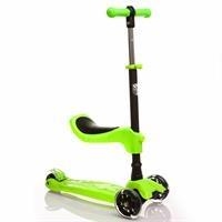 Oturaklı Scooter Yeşil