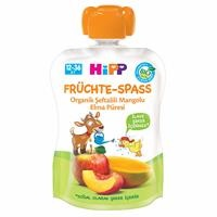 Organic Mashed with Peach Mango Apple 90 g