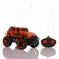 Uzaktan Kumandalı Safari Jeep Turuncu