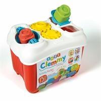 Clemmy Baby Blocks Bucket 15 pcs