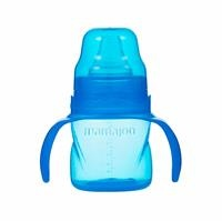 Traning Cup with Soft Spout 160 ml - Blue 6 M+