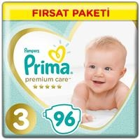 Baby Diaper Premium Care Size 3 Midi Advantage Pack 6-10 kg 96 pcs