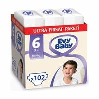 Size 6 Extra Large Ultra Advantage Package Baby Diaper 102 pcs