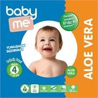 Aloe Vera Maxi 4 Numara Bebek Bezi 7-14 kg 50 adet