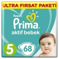 Active Baby Diapers Size 5 Junior Ultra Advantage Pack 11-16 kg 68 pcs