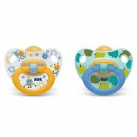 Happy Kids Baby Rubber Pacifier 0-6 m 2 pcs