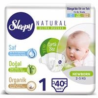 Baby Diapers Size 1 Newborn 2-5 kg 40 pcs