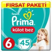 Külot Bebek Bezi Fırsat Paketi XL 6 Beden 15 kg+ 45 Adet