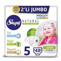 Natural Baby Diaper Junior 5 Size 48 pcs
